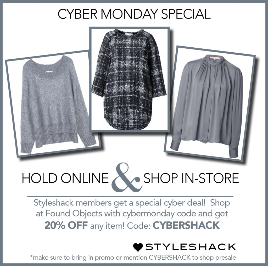 Cyber Monday FO New