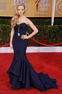 Amanda Seyfried 2013 SAG awards, Zac Posen