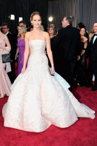 Jennifer Lawrence Oscars 2013- Dior Haute Couture