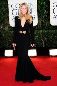 Kate Hudson Golden Globes- Alexander McQueen