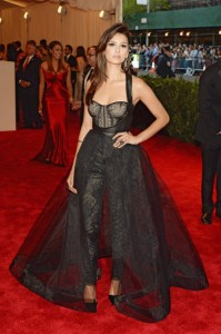 Nina Dobrev 'The Vampire Diaries' Met Gala- Monique Lhuillier