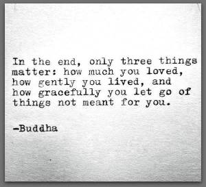 Buddha-Only-Three-Things-Matter