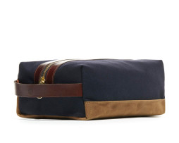 crosby shoe bag navy