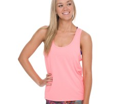 onzie slice back tank