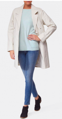 Creenstone Dara Trench in Kit from Hersh's via Styleshack. Click to purchase!