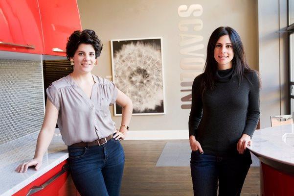 Niki and her sister, Alisha Serras.