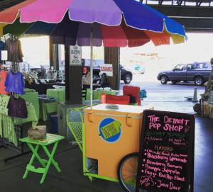 Pop Shop at farmers market