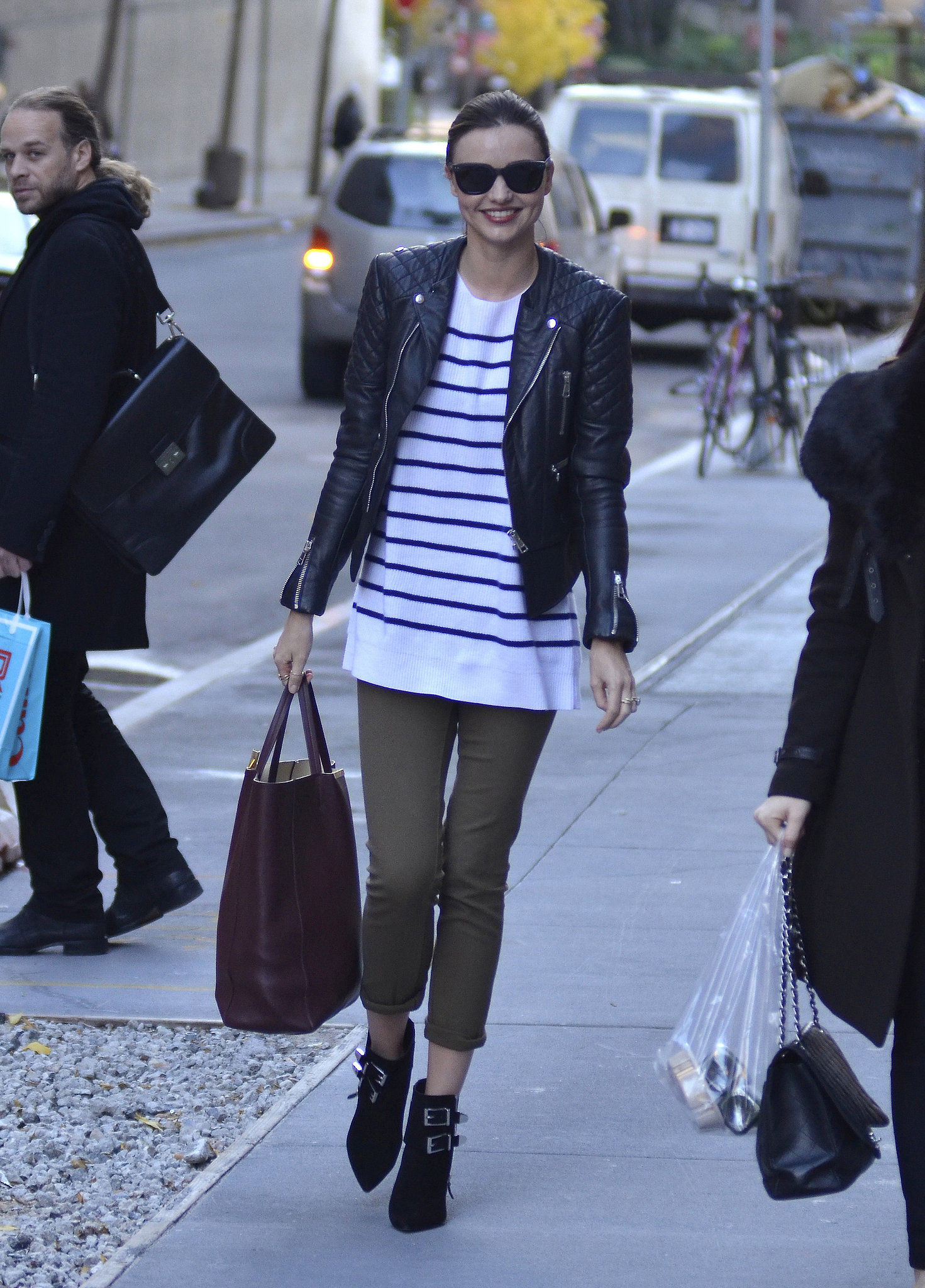 effortless-mix-edgy-leather-preppy-stripes-provides